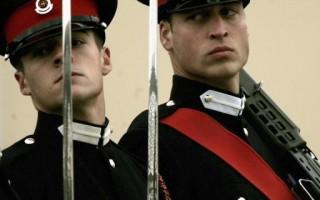 組圖:威廉王子畢業 將任皇家騎兵團軍官