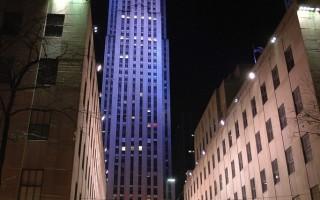 组图:平安夜纽约夜景和橱窗秀
