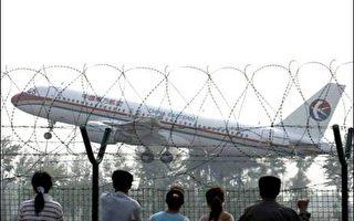中国东方航空客机爆胎 迫降上海虹桥机场
