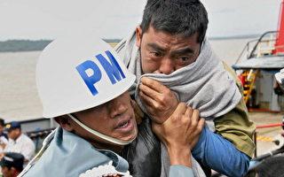 印尼沉没渡轮 再救起28名生还者
