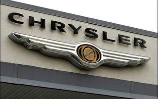 克萊斯勒汽車去年全球汽車銷量減少4.5 %