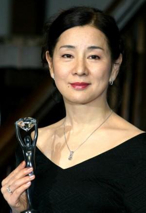 1945年生的吉永小百合代言鑽石。(Junko Kimura/Getty Images)
