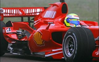 F1赛车法拉利2007年新车全球首度试车
