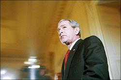 國情咨文摘錄公佈 布什將籲對伊戰保持耐心