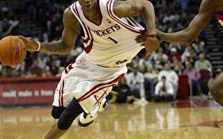 NBA-火箭射马刺两连胜    麦蒂三次挽狂澜