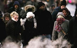 组图:寒流袭美加  气温降至零下41度