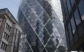 倫敦「小黃瓜」 英國最貴辦公大樓