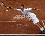 """""""沙皇""""沙芬 Marat Safin /AFP/Getty Images"""