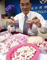 消基會檢測27%湯圓含禁用防腐劑 高於前2年