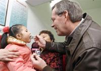中国每年有四十万幼儿缺医死亡