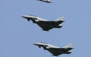 日本考慮要購買歐洲生產的颱風戰機