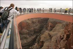 漫步在空中 美大峡谷天空步道即将开放