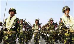 慶祝軍人節  緬甸新都盛大閱兵