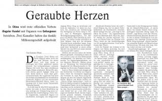 德國媒体報道中共活摘法輪功學員器官