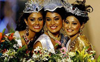 图文:2007印度小姐 宝莱坞演员夺冠