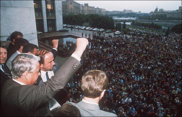 【微歷史】解體蘇共英雄 戈巴卓夫或葉利欽?