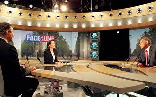 法总统候选人罗雅尔昨接受电视台采访