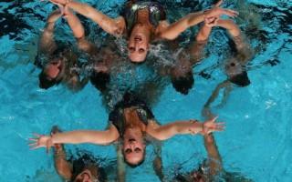 組圖:水上芭蕾美少女