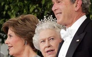 白宮盛大國宴 歡迎英女王伊麗莎白二世