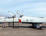 空軍志航基地編號5371的F-5F雙人座戰機(如圖)十一日參加漢光演習預演時,在新竹湖口基地低空失速墜毀。(照片軍方提供) //中央社