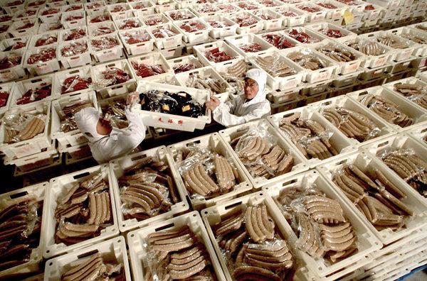 中國有毒食品和產品出口引國際緊張