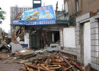 北京野蛮逼迁 居民捍卫私有产权