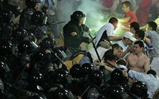 烏克蘭足球賽爆衝突 政壇三巨頭尷尬