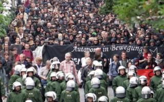 歐亞外長會議漢堡舉行 4000人抗議