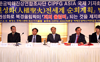 韓調查團:全球聯合定會改變中國人權