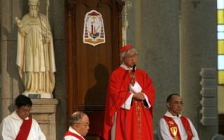 香港樞機主教陳日君密會布什總統