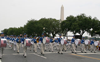 組圖一﹕美國首都華盛頓獨立日大遊行