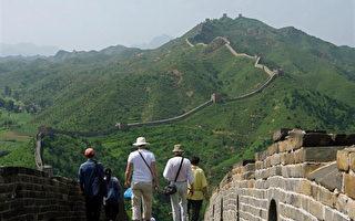 入選新世界七大奇景的萬里長城//AFP/Getty Images