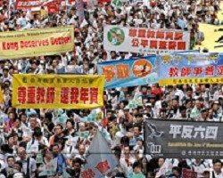 抗議中共一黨專政 前解放軍官退黨