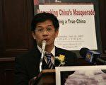 駐美國台北經濟文化代表處副代表黃偉峰博士(常磊攝影/大紀元)
