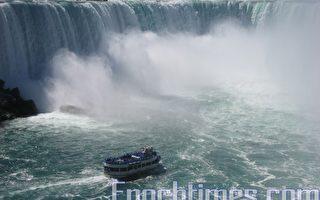 組圖:雷神之水−−尼亞加拉大瀑布