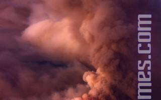 加州野火擴散至近二萬畝面積   火勢失控