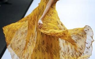 组图:威尔斯印度时装周的靓丽模特