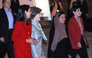 美第一夫人展开中东访问 宣传乳癌防治