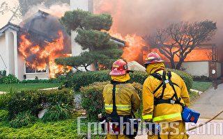 南加火災嚴重   灣區救火隊員前往救援