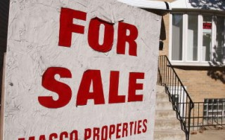美國房屋售出率大幅下跌