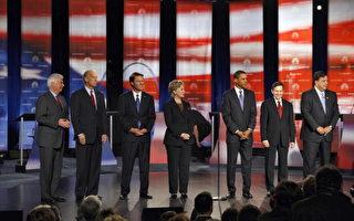 美民主黨總統候選人費城第四次對決