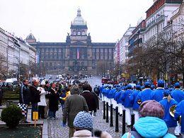 歐洲天國樂團吸引了捷克民眾的關注