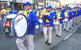 組圖:天國樂團聖誕遊行受青睞