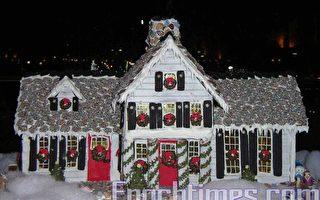 姜饼房屋赛圣诞前显爱心