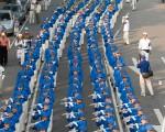 12月1日台灣中部舉行聲援3000萬人退出中國共產黨(團、隊) 遊行。(攝影:李耀宇、吳柏樺/大紀元)
