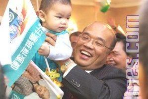 苏贞昌佛州造势 谈台湾民主成就
