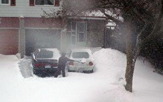 加東遭遇60年罕見大雪