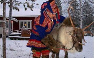 另類暖化 耶誕老人穿短褲駱駝拉雪橇
