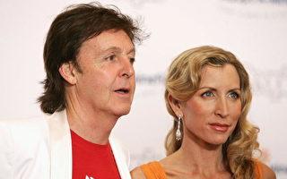 前披頭士成員保羅將付5500萬英鎊離婚