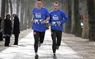 英視障男子為導盲犬募款 七天內七大洲長跑
